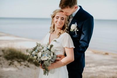 Elīna un Toms | Dundagas pils | kāzas